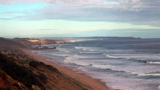 South Coast, Point Nepean National Park. Point Nepean ? the tip of the Mornington Peninsula that hugs the eastern side ...