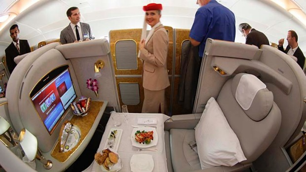 Emirates has been named the best airline in the world for 2013.