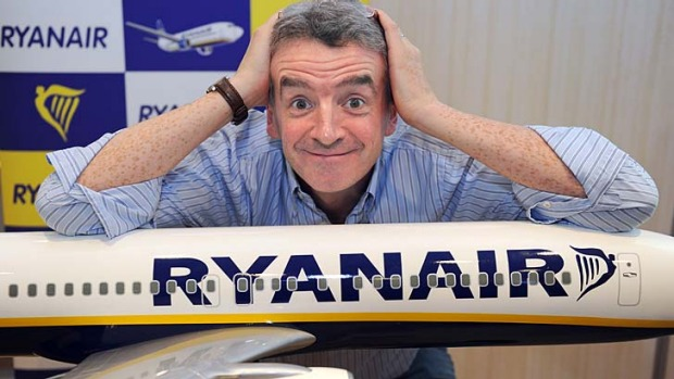 Ryanair CEO Michael O'Leary. O'Leary has indicated that he is trying to work out a way for his airline to charge ...