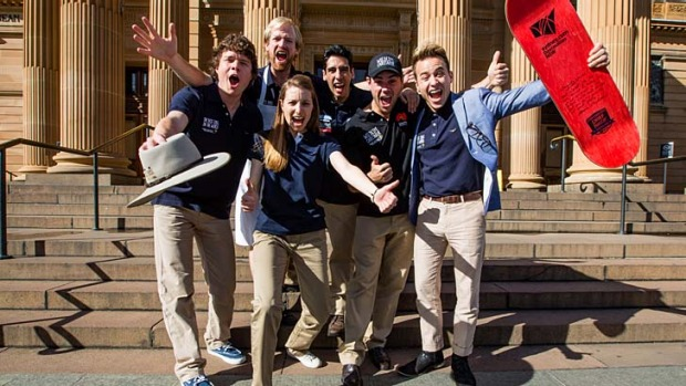The winners of Tourism Australia's 'Best Jobs in the World' competition.