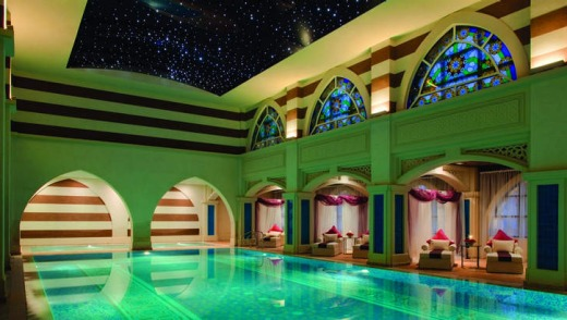 The Talise Ottoman Spa is the largest in the Middle East.