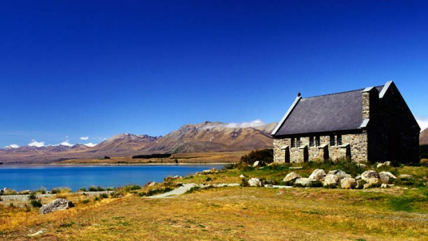 Happily ever after: Church of the Good Shepherd on Lake Tekapo, New Zealand.