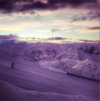 @coronetpeak First tracks.