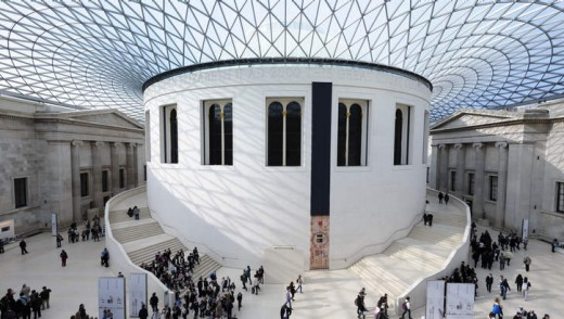 The British Museum in London.