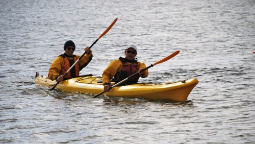 Kayaking is just one of Phillip Island's adventure sports offerings.