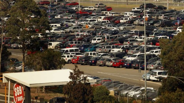 Sky high ... Parking at Melbourne Airport just got much  more expensive.