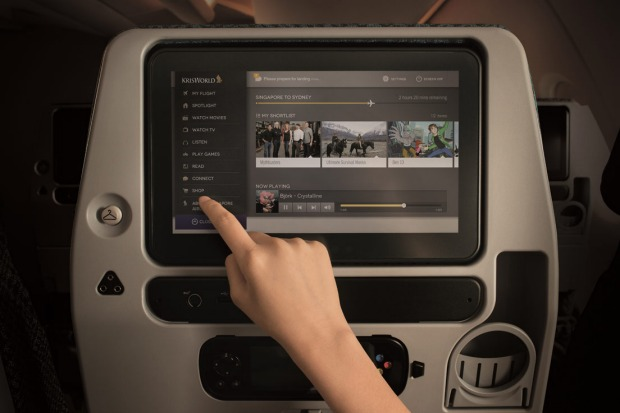 Singapore Airlines introduced a revamped entertainment system in 2013.