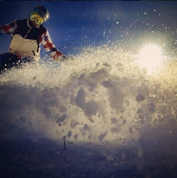 @c00lguy sunset slash at Perisher