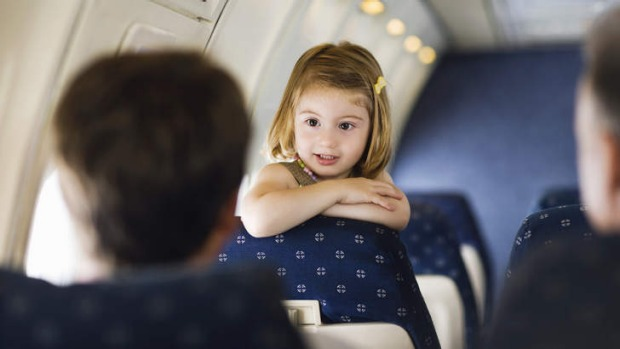 Minimise the pain: Plan ahead when flying with small children.