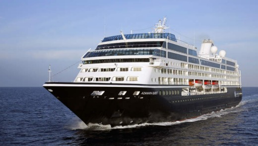 The Azamara Quest, where guests are encouraged to get off and roam.
