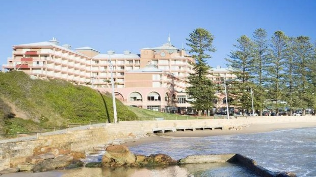 The Crowne Plaza Terrigal.