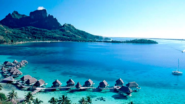 If the world has an erogenous zone it's French Polynesia, and Bora Bora is its beating heart. Over-water bungalows like ...