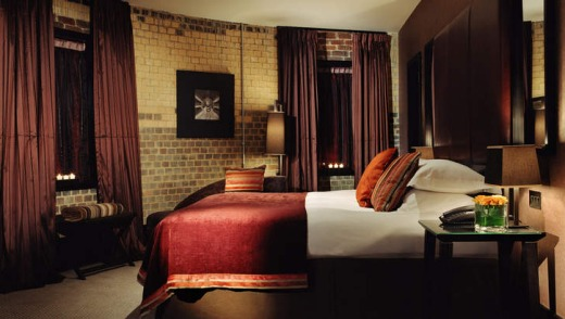 Hotel Malmaison in Oxford, UK.