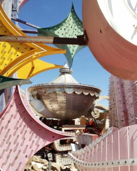 After years of preparation, the Neon Museum's Boneyard opened in late 2012.