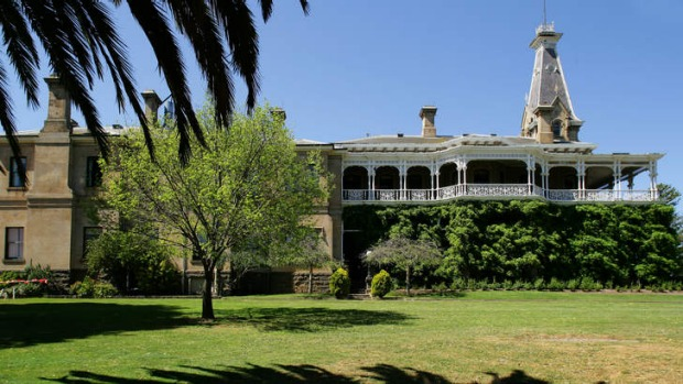 The Rupertswood mansion near Sunbury, north-west of Melbourne, was a social hub for the upper class after its completion ...