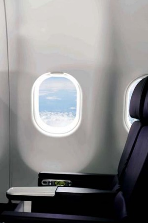 Some airlines will close the window blinds even when it is daylight outside.