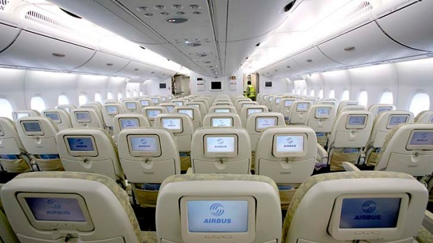 Airbus about to unveil a new A380 interior design that squeezes in an extra economy class seat.