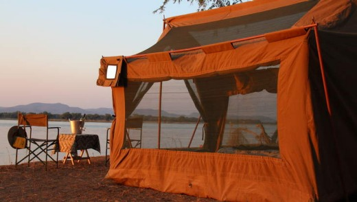 Illala camp on the Zambezi.