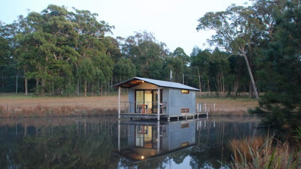 One of the Boat Sheds at Worrowing, Jervis Bay.
