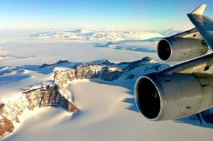 Antarctica sightseeing flight