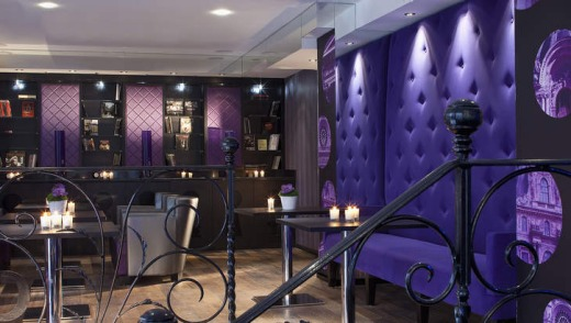 Paris design hotels for Hotel secret paris