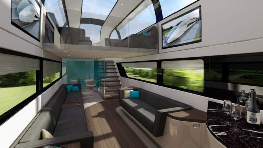 First-class train travel of the future.