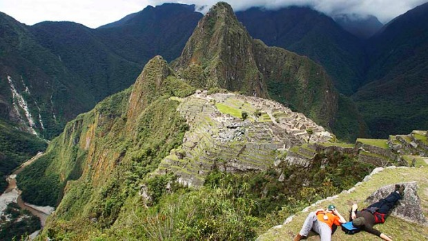 Machu Picchu offers breathtaking views ... but only because it's literally hard to breathe up there.