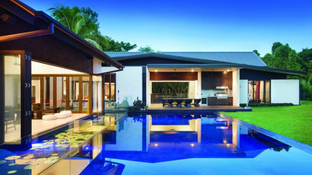 Ultra luxury ... the Dune, one of the 'Ultra Port Douglas' properties.