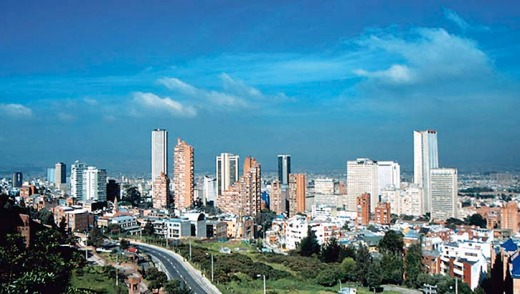 Bogota, Colombia ... 2013 is a good year to go.