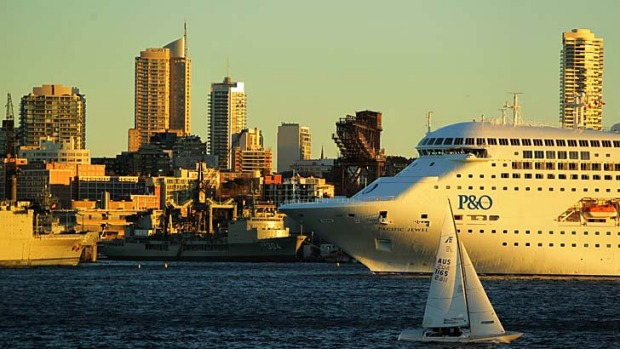 The cruise industry says greater access to Garden Island is desperately needed.