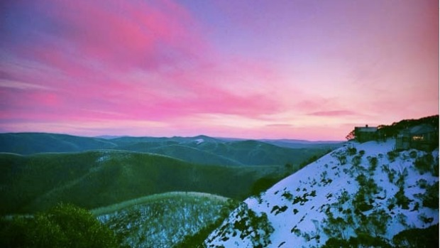Sunset at Hotham.