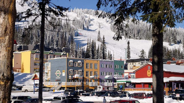 Family-friendly: Silver Star Resort in Canada.