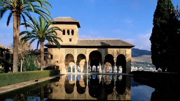 Alhambra Palace in Grenada: Allow a week to enjoy a trip from Grenada to Barcelona.