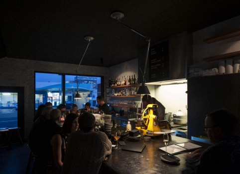 West Hobart. Sidecar in Bathurst Street. This tiny wine bar, with stools set around a single island bench, is as cosy as ...