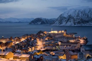 Honningsvag in polar twilight SHD TRAVEL. September 15 - shore excursion - norway - text by Jane E Fraser. Honningsvag. ...