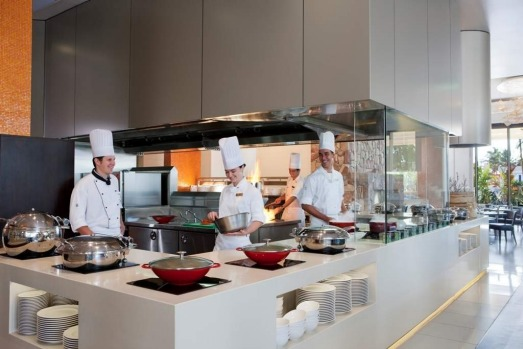 The Surfers Paradise Marriott Resort and Spa - they call it interactive dining, otherwise known as a killer buffet at ...