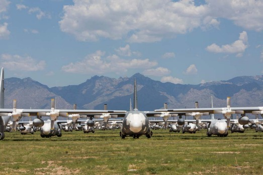 309th Aerospace Maintenance and Regeneration Group. Where: Tucson, Arizona, USA. Occupying a vast stretch of plain in ...