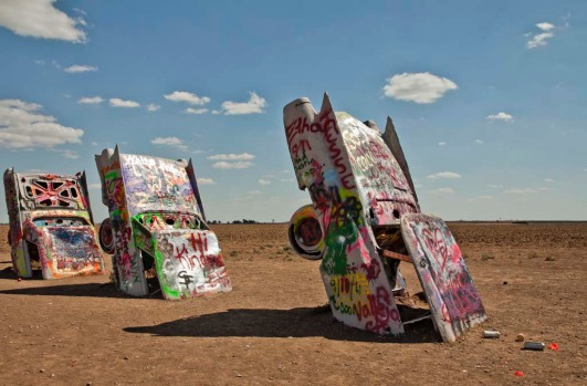 Cadillac Ranch. Where: Amarillo, Texas. A rather more unusual take on the boneyard concept can be found in a cow field a ...