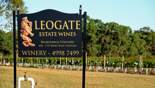 Leogate Estate Wines, Pokolbin.