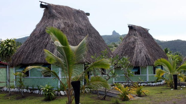 Local heroes: Natalei Eco Lodge bures.