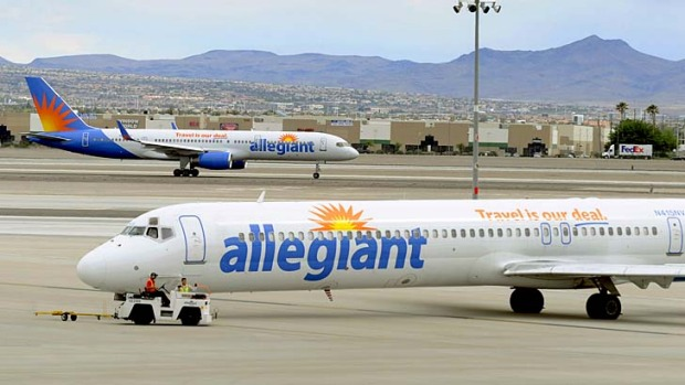 US carrier Allegiant is an airline focused on holidaymakers, not business travellers.