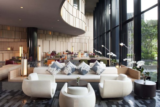 COOL OUT AND CHILL: Crowne Plaza Changi Airport. As soon as you see this Singapore hotel, with its stylised metal ...