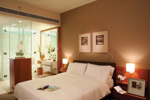 SLEEK AND CHIC: Novotel Hong Kong Citygate. While not directly at the airport, this eco-conscious hotel is just a ...
