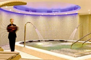 Inside the spa at Sofitel London Heathrow.