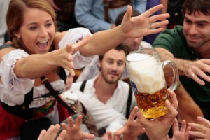 Millions of beer drinkers from around the world will come to the Bavarian capital of Munich, Germany, over the next two ...