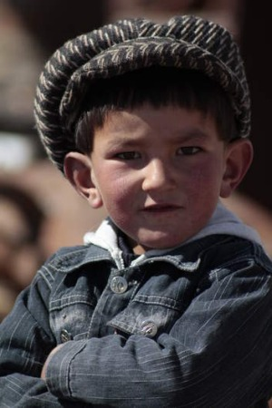 A local boy in the remote town of Murghob.