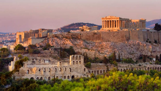 Ancient riches: the Acropolis of Athens.