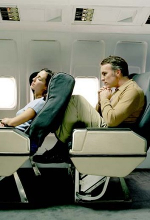 A fed-up passenger has called for a revolt against seat reclining on planes.