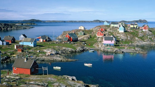 The Inuit village of Itleveq.