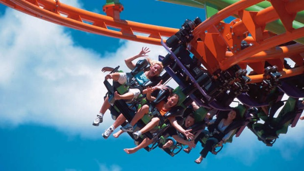 Theme parks and sunshine will be central to a new tourism push for the Gold Coast.
